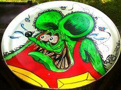 ratster art hot rod art paradise von dutch posca rat fink one shot paint