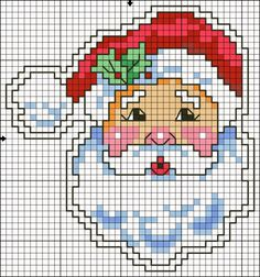 Hottest Free of Charge Cross Stitch easy Thoughts Cross Stitch Craze: Eleven Easy Christmas Cross Stitch – Free Pattern Santa Cross Stitch, Beaded Cross Stitch, Simple Cross Stitch, Counted Cross Stitch Patterns, Cross Stitch Charts, Cross Stitch Designs, Cross Stitch Embroidery, Embroidery Patterns, Cross Stitch Patterns Free Easy