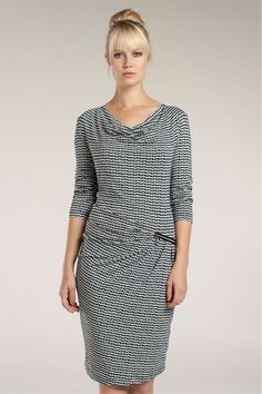 patroon jurk watervalhals - Google zoeken