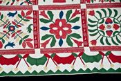 Extraordinary Baltimore Album Quilt, mid 19th century
