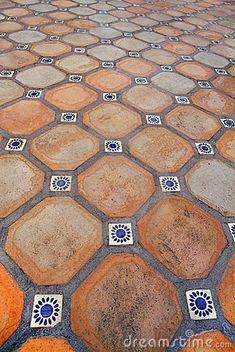 Spanish tile floor by Sailorman, via Dreamstime #designpinthurs