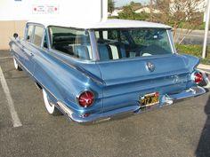 1960 Buick LeSabre station wagon. Beautiful!