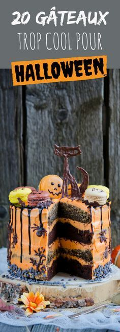 20 terrifying recipes for Halloween Halloween Desserts, Sugar Skull Halloween, Halloween Food For Party, Halloween Cakes, Holidays Halloween, Halloween Treats, Halloween Diy, Happy Halloween, Biscuits Halloween
