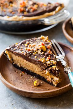 "sallysbakingaddiction: ""Unbelievable Peanut Butter Pie Recipe Keep reading """