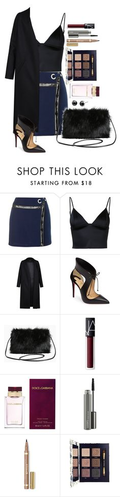 """""""Untitled #1644"""" by fabianarveloc on Polyvore featuring Topshop, T By Alexander Wang, Non, Christian Louboutin, Torrid, NARS Cosmetics, Dolce&Gabbana, MAC Cosmetics and Tory Burch"""