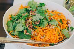 Korianterinen porkkanasalaatti