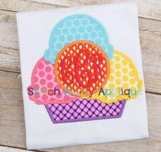 Monogram Circle Ice Cream-SAA