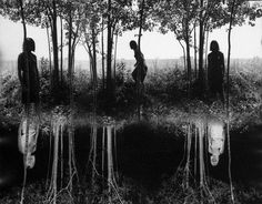 I saw this Jerry Uelsmann photomontage at the Peabody Essex Museum while in Salem, Mass, for a conference and wondered what sort of book would have this image as its cover.