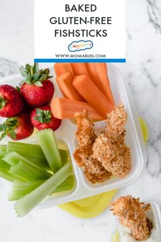 crispy homemade fish sticks are gluten-free and baked for a healthy version of the classic kid-favorite food.These crispy homemade fish sticks are gluten-free and baked for a healthy version of the classic kid-favorite food. Fish Recipes, Real Food Recipes, Snacks Recipes, Meal Recipes, Paleo Recipes, Yummy Food, Dairy Free, Gluten Free, Grain Free
