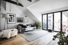 Scandinavian penthouse Follow Gravity Home: Blog - Instagram - Pinterest - Facebook - Shop
