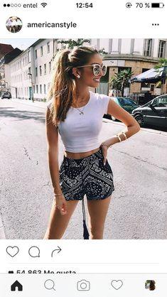 Girls, summer outfits women, casual summer outfits, outfits for teens, Summer Fashion Trends, Summer Fashion Outfits, Summer Outfits Women, Cute Fashion, Teen Fashion, Spring Outfits, Fashion Ideas, Holiday Outfits For Teens, Holiday Clothes