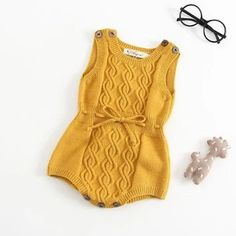 Autumn Newborn Baby Girls Boys Romper Knitted Wool Yellow Grey Color Twisted Overall Jumpsuit For Baby Clothes Vest Romper - Autumn Newborn Baby Girls Boys Romper Knitted Wool Yellow Grey Color Twisted Ove. Baby Outfits, Kids Outfits, Newborn Outfits, Baby Boy Romper, Baby Girl Newborn, Baby Bodysuit, Baby Overall, Knitted Romper, Knitted Baby Clothes