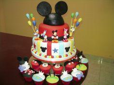 decoracion de fiestas infantiles de mickey mouse - Buscar con Google