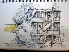 urban sketching tutorial - Google Search