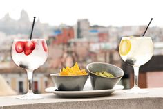 Gin Tonics & Tapas offer at Hotel Midmost Rooftop Bar in Barcelona