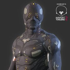 Combat Suit Marmoset Scene, Snehal S Gopal on ArtStation at https://www.artstation.com/artwork/bDmAg