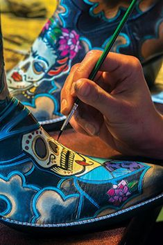 No design idea is too wild for a pair of Rocketbuster custom cowboy boots.