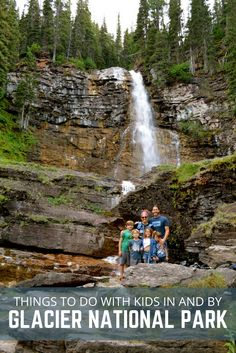 Check out our list of Things To Do In Glacier National Park with Kids! Glacier National Park in Montana is a great place to visit with your family.  via @Crazy Family Adventure