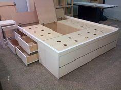 Resultado de imagen para camas con cajones 2 plazas