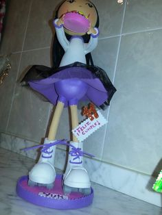 Es patinadora! !