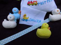 bomboniere ricamate di sara:        bomboniera battesimo o baby shower...per bi...