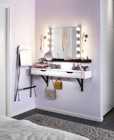 ikeahack ekby alex ribba - vanity for small spaces