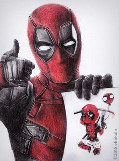 Deadpool by elinkalo on DeviantArt
