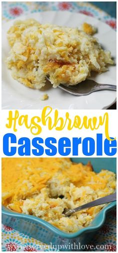 Becky's Hashbrown Casserole recipe from Served Up With Love is full of creamy cheesy potatoes that are sure to bring the entire family running to the table. #sidedish #potatoes #recipes #easy #thanksgiving #cheese