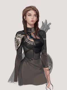 Sunmi Lee – About Anime Alien Character, Female Character Design, Character Concept, Character Art, Dungeons And Dragons Characters, Dnd Characters, Fantasy Characters, Female Characters, Fantasy Concept Art