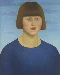 Dora Carrington self portrait