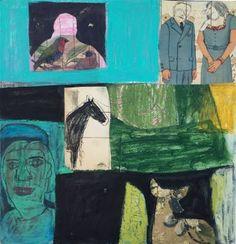 """Saatchi Art Artist laure heinz; Painting, """"Green Drift Dream"""" #art Selling Art Online, Dream Art, Original Artwork, Saatchi Art, Collage, Sculpture, Drawings, Paper, Green"""