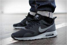 The Nike Air Max Tavas Black