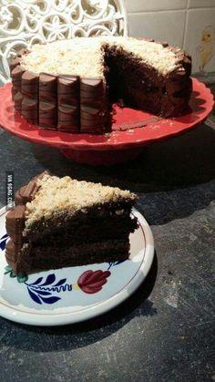 Gâteau kinder bueno... ...