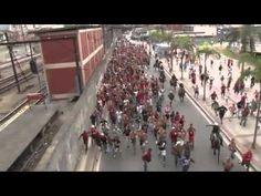 [Brazil] Hooligans from Torcida Jovem do Flamengo. José Aldo (MMA) group