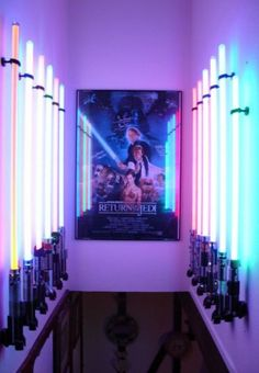 This will be the entrance to my home theater someday...