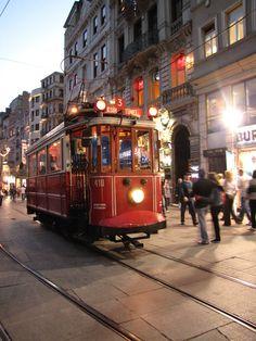 Tram * Istiklal Street, Istanbul