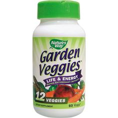 Natures way Зеленчуков антиоксидант