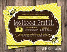 Hey, I found this really awesome Etsy listing at http://www.etsy.com/listing/158462869/bee-baby-shower-invitation-chalkboard