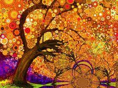 cyman provide psychedelic trippy art silk poster 32 x 24 decor--0107 in high…