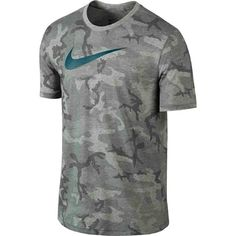 NWT Mens Nike Legend Diamond Camo DRI-FIT Tee BRAND NEW WITH TAGS  SWEAT-WICKING COMFORT, CAMO DESIGN. Nike Diamond Camo Men's Training T-Shirt is made with sweat-wicking fabric and features a subtle diamond background, elevating your traditional camouflage graphic.  Dri-FIT fabric blend wicks sweat for dry comfort.Ribbed collar for a comfortable, nonrestrictive fit.Back neck tape moves smoothly against your skin.Oversized Swoosh design trademark is printed across the chest. Nike Tops Tees…