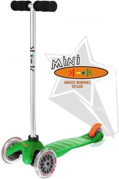 mini kick Scooter - Green by Kickboard USA, http://www.amazon.com/dp/B003IVLHIC/ref=cm_sw_r_pi_dp_KlYMrb0DPRGZ4