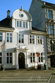 A McDonald's in Bergen, Norway