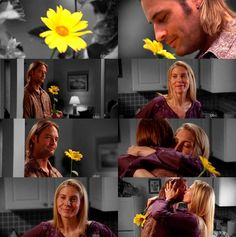 I seldom cry at movies, books, or TV shows no matter how depressed I am. But I cried when they kissed, happy tears of course! Juliet and Sawyer are the most amazing couple. Juliet can calm down Sawyer when no one else can and their love for each other is unconditional