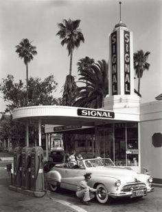 Gas Station, 1950