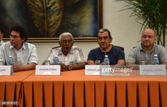 05-11 (L to R) Commanders of FARC-EP leftist guerrilla Pastor... #sancarlos: 05-11 (L to R) Commanders of FARC-EP leftist… #sancarlos