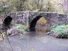 Pont gallo-romain - 2 arches du pont - Vos plus beaux ponts de France