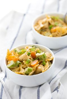This Creamy Curried Chicken Pasta Salad recipe will be a hit at your next summer BBQ or picnic. Its easy to prepare and so delicious!