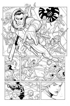 Guardians of the Galaxy Annual #1 p.26 by Frank Cho *