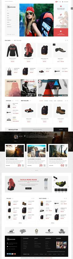 Backpacker is a multipurpose #eCommerce #WordPress #template based on WooCommerce for multipurpose shopping website with 3 amazing homepage layouts download now➩ https://themeforest.net/item/backpacker-responsive-woocommerce-wordpress-theme/16815300?ref=Datasata