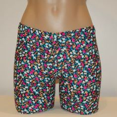 Field of Flowers :: Shorts/Spankies :: Spandex Compression Shorts and Athletic Wear for Volleyball, Soccer, Field Hockey, Lacrosse, Running and all sports from #bskinz
